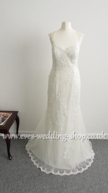 Ladybird wedding dress size  UK 8