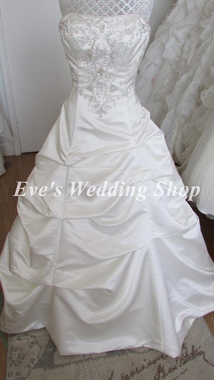 ALFRED ANGELO STYLE 1186 WEDDING DRESS UK 10/12