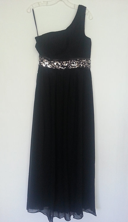 Ever Pretty black bridesmaid dress UK 8 and 10