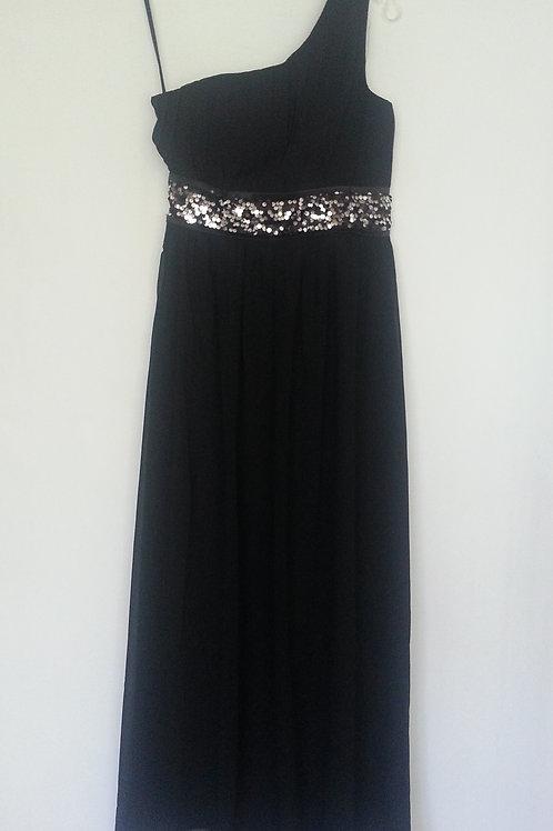 Ever Pretty black bridesmaid dress UK 8 and 10