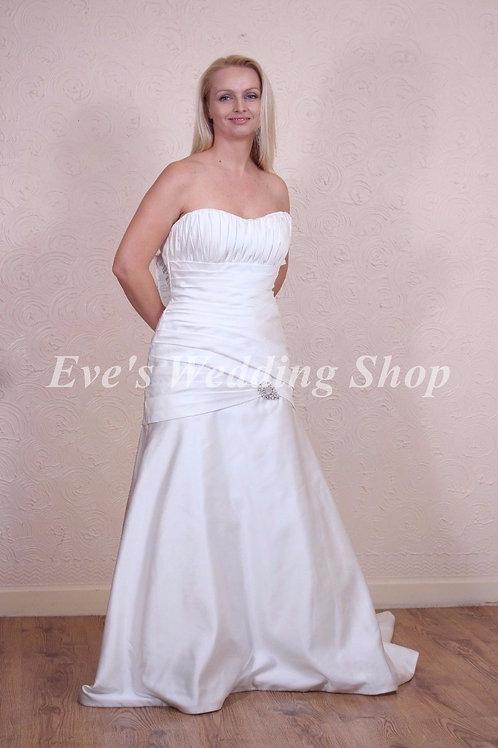ALFRED ANGELO IVORY WEDDING DRESS 12/14