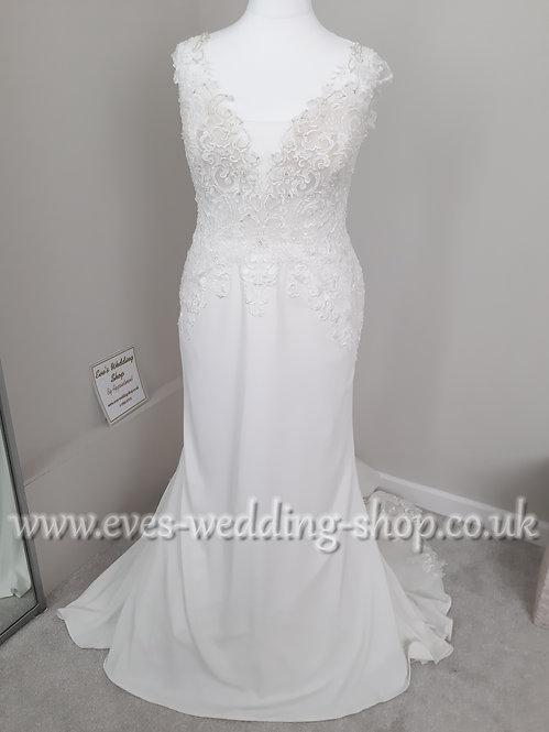 Nicole Spose ivory wedding dress IT 52 / UK 20-22