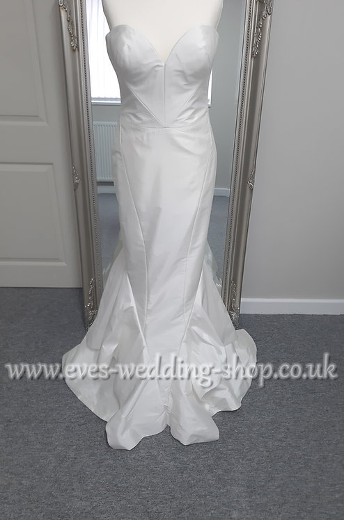 Zac Posen style Katie ivory wedding dress UK 10