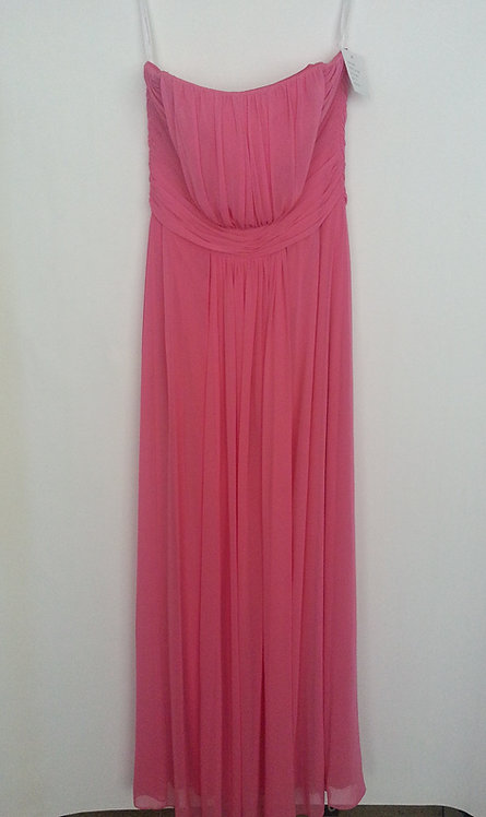 Dessy 6640 punch color evening / bridesmaid dress UK 14