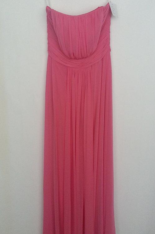 Dessy 6640 punch color evening / bridesmaid dress UK 14