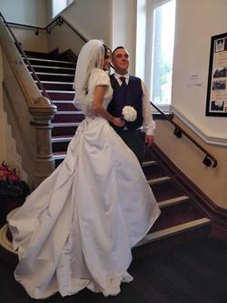 Rachael with husband ♡