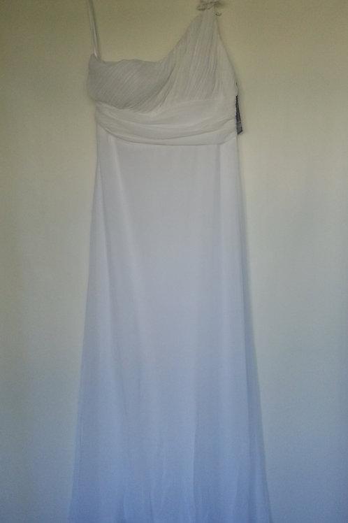 Ever Pretty white  bridesmaid dress Uk 14