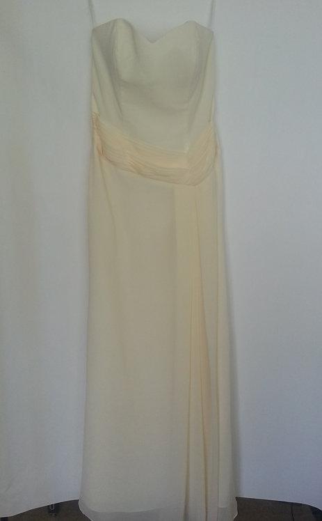 Amanda Wyatt yellow bridesmaid dress UK 12