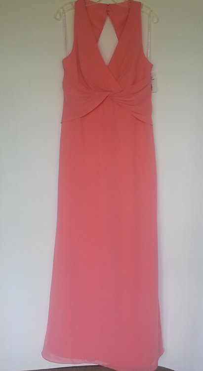 Dessy Uk 6717 ginger evening / bridesmaid dress UK 10