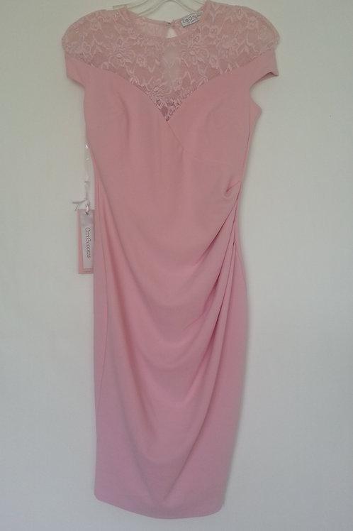 Pink short City Goddess  short dress UK 8