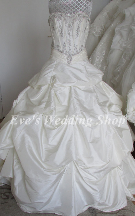 Phoenix gowns beautiful wedding dress UK 10/12
