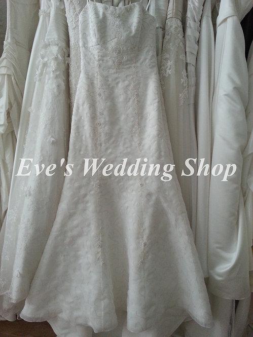 Nicole Jackson wedding dress UK 12