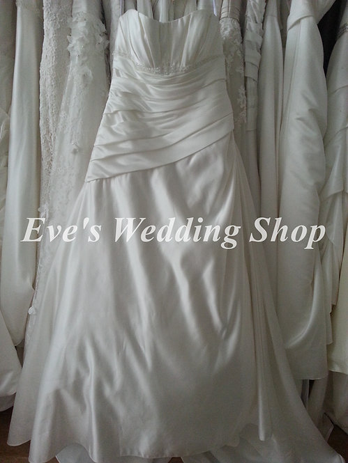 D'zage ivory wedding dress Uk 14/16