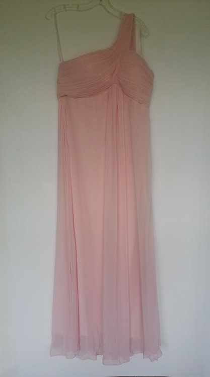 Ever Pretty light pink bridesmaid dress Uk 14