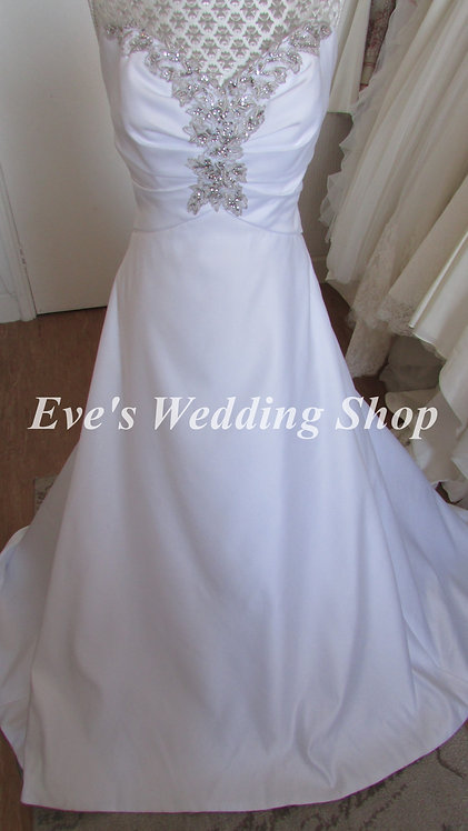 Special day white wedding dress UK 10/12