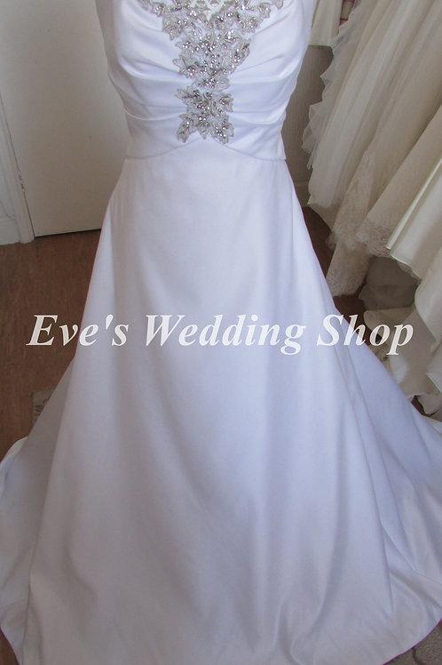 Special day white wedding dress UK 10/12