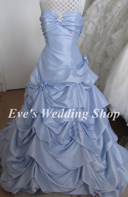 Forever Yours blue wedding dress US 8 - UK 10