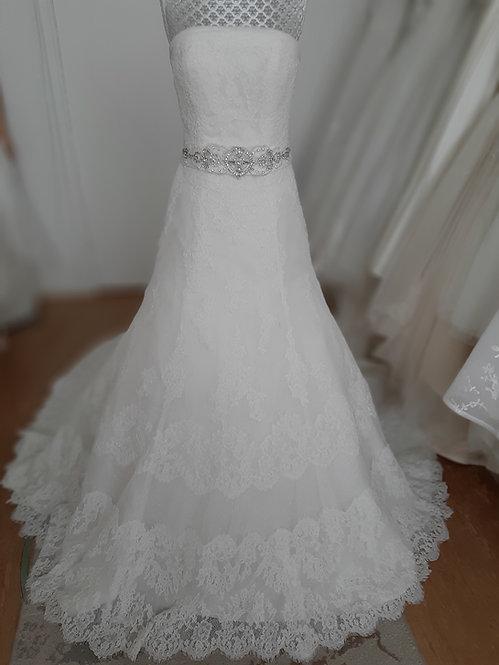 San Patrick wedding dress UK size approx. 8/10 -for taller bride