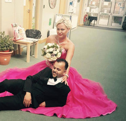 Wiolka with husband ♡