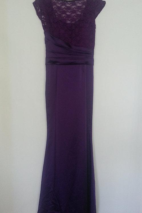 Cece forever purple bridesmaid dress UK 8