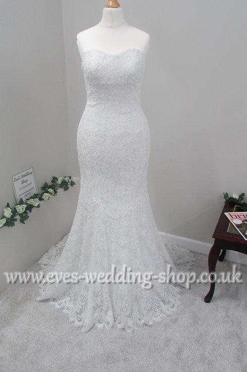 Maggie Sottero Linley Ivory wedding dress UK 4/6