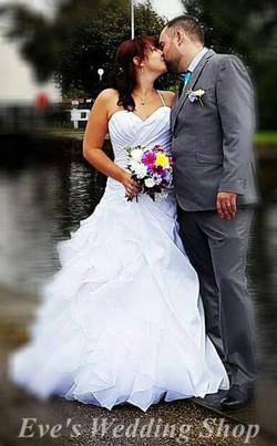 Cressa with husband ♡