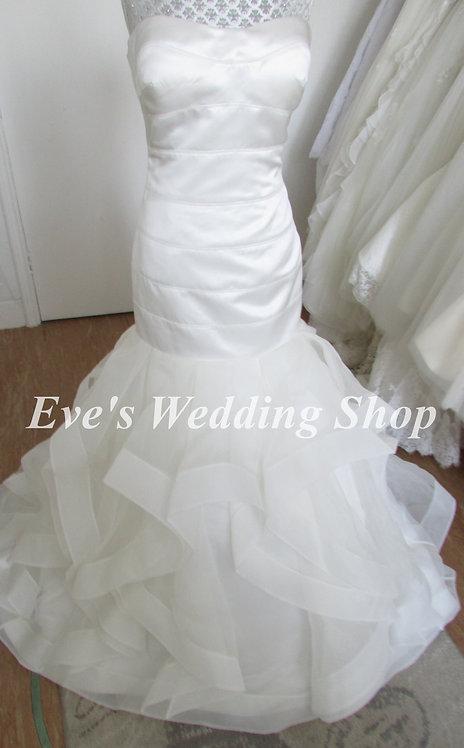 D'zage ivory wedding dress UK 10/12