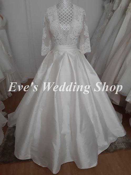 Aspire ''Rashida'' wedding dress UK 14/16
