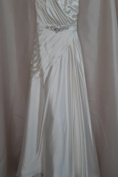 Diane Harbridge ivory wedding dress UK 12