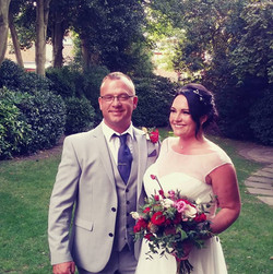 Louise with husband ♡