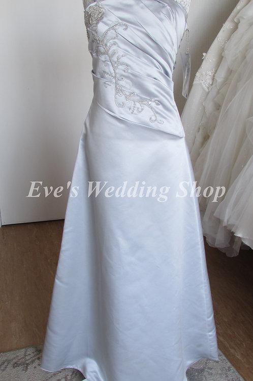 Silver BNWT bridesmaid dressage  12 years