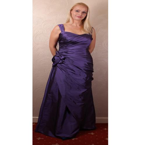 Mark Lesley Bridesmaid Prom Wedding Dress 12 14