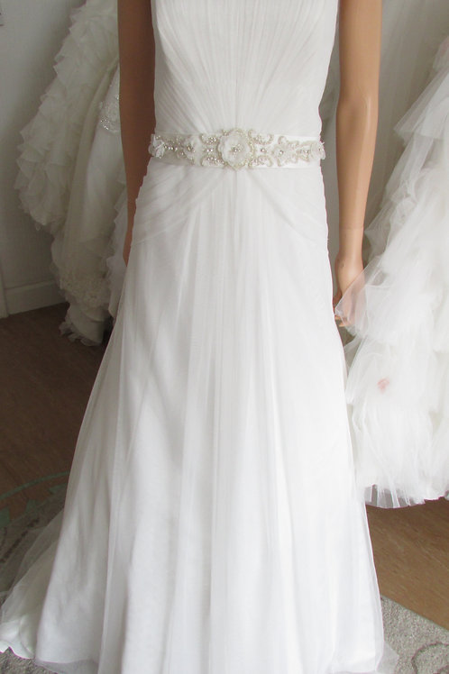 VINTAGE BY ALFRED ANGELO UK16 wedding dress