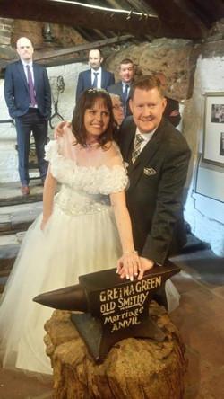 Gina with husband ♡