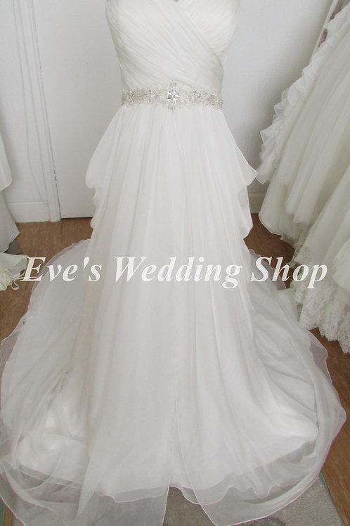 Gino Cerutti style 673L wedding dress UK 16/18