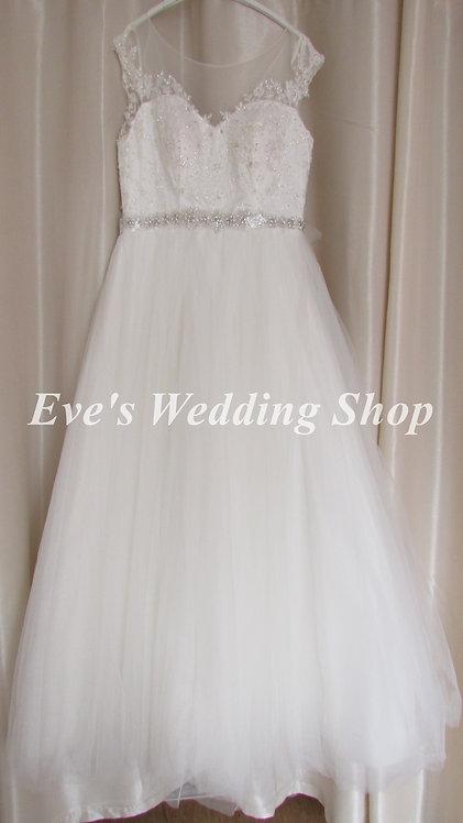 Verise ivory VB402 wedding dress UK 16/18