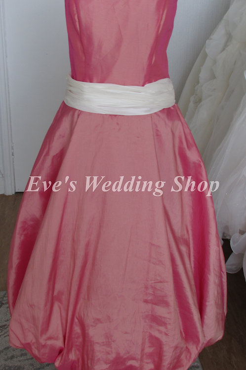 RAYLIA DESIGNS PINK PROM DRESS UK 14