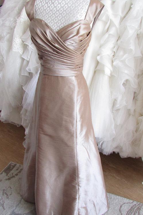 WTOO MOCHA EVENING / BRIDESMAID  DRESS UK 10