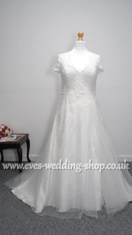 Berketex ivory wedding dress UK 18