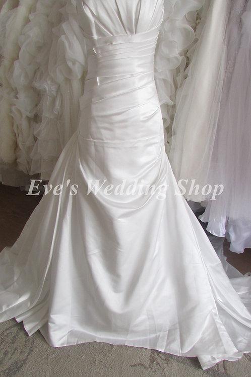 Victoria Kay ivory wedding dress UK 12