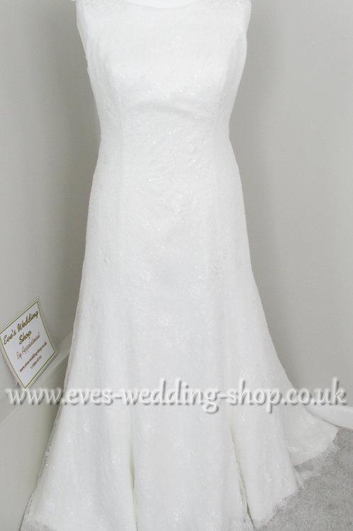 Bianco Evento wedding dress EU 46 /UK 20