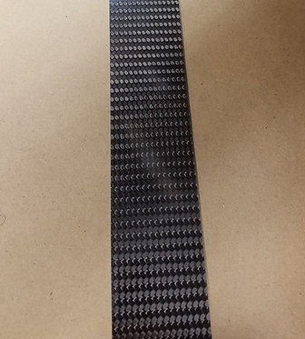 2 Ply Twill Carbon 0.018 X 1.75 - Choose Length to See Price