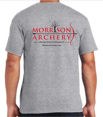 Morrison Archery T - Heather Gray