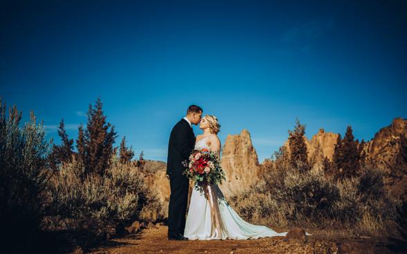 Smith Rock Oregon Wedding Photographer