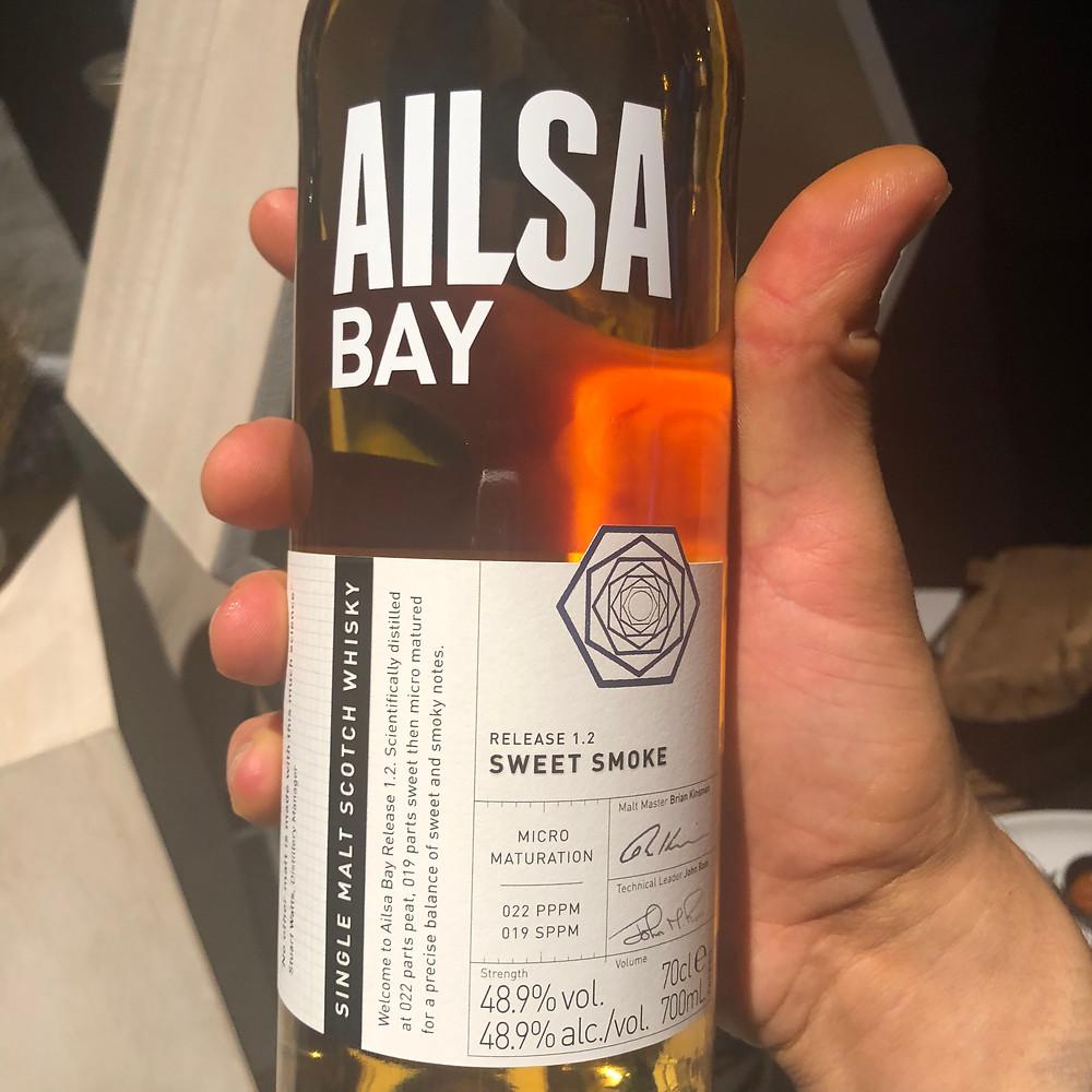 Ailsa Bay bottle and label
