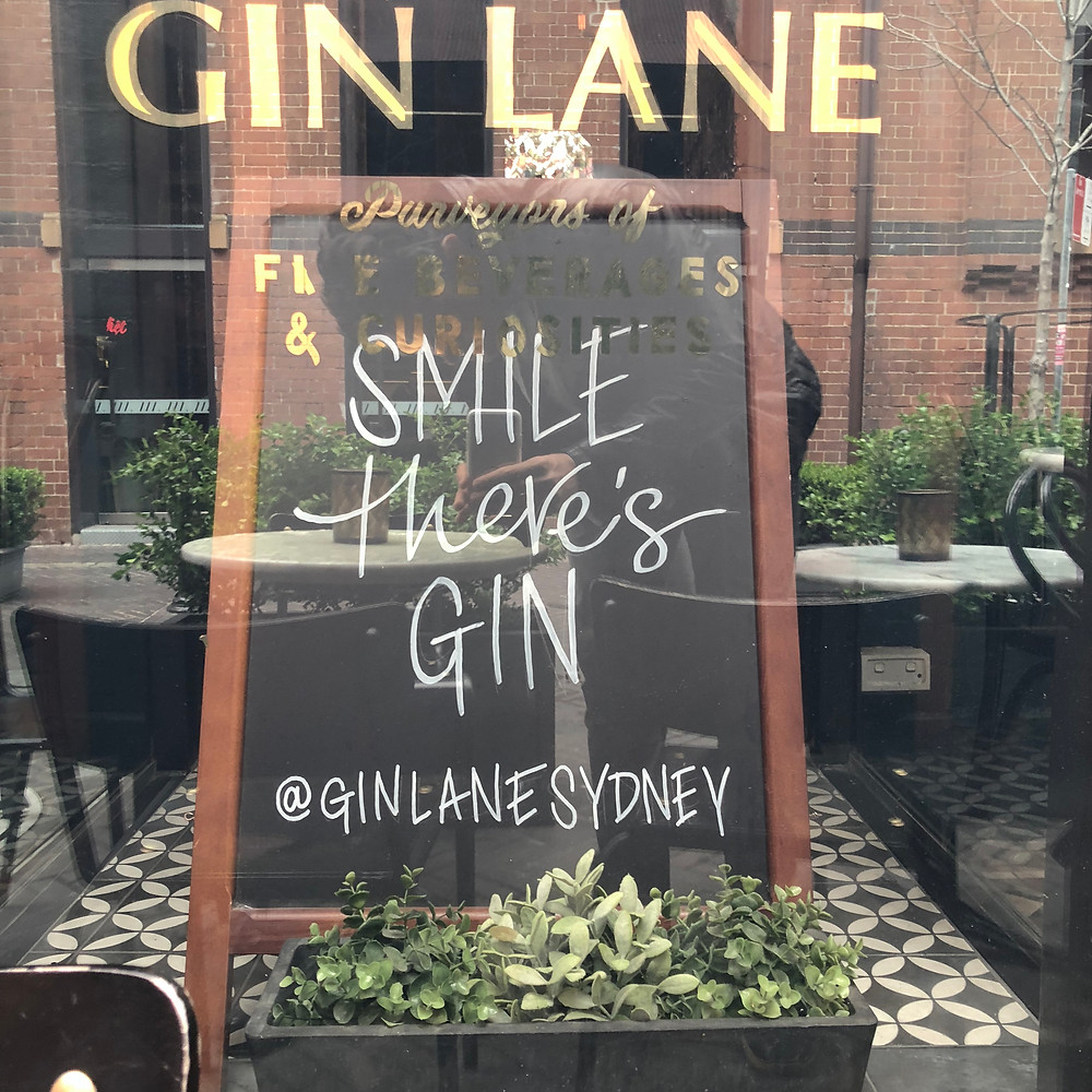 Smile theres Gin