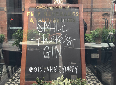 Gin Lane - A Dickensian Gin Palace in the heart of Central Sydney