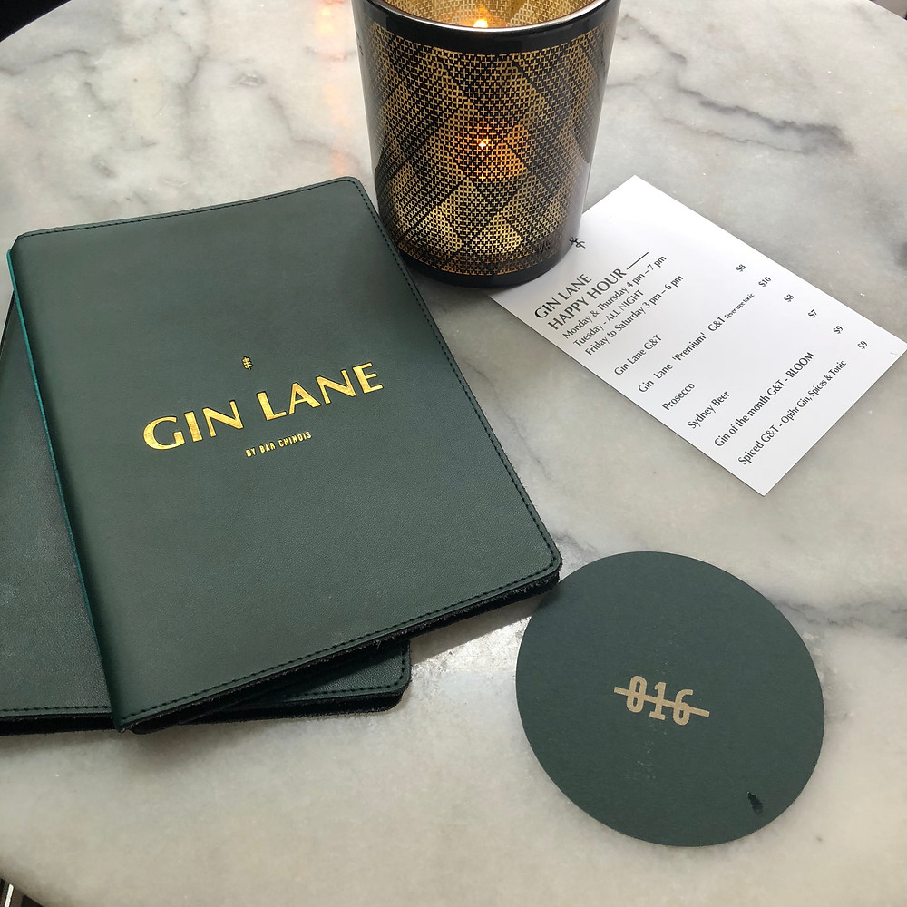 Gin Line Table setting