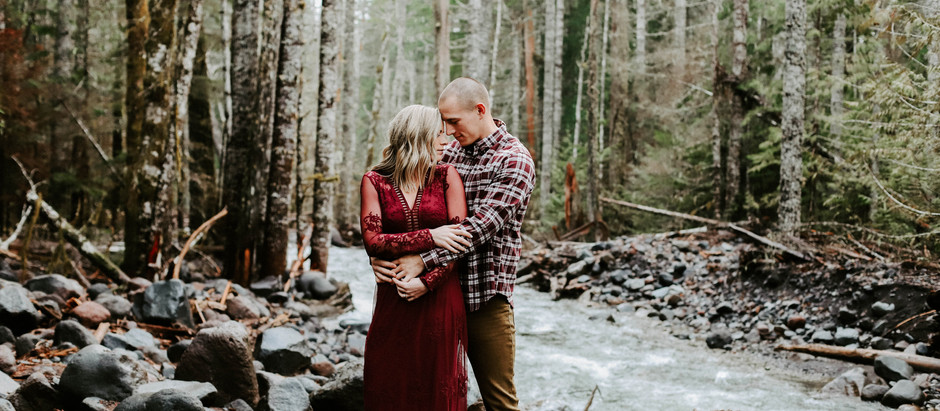 Mt Rainier Engagement