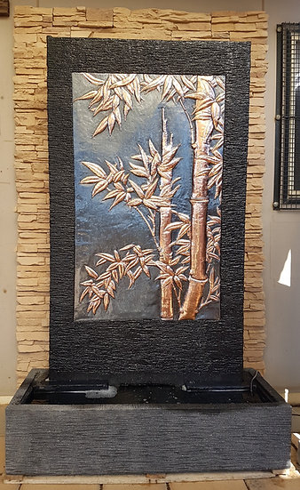 Bamboo Copper Wall